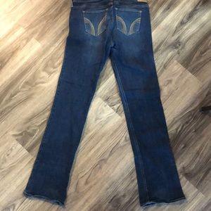 Hollister boot leg jeans